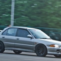 Modifikasi Mobil Mitsubishi Lancer GTi Engine Swap 4G93T
